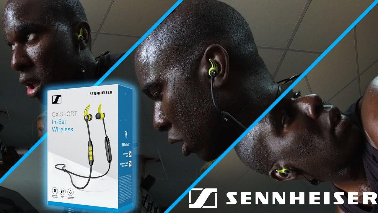Sennheiser Cx Sport In Ear Wireless Headphones Review Test Youtube Earphone