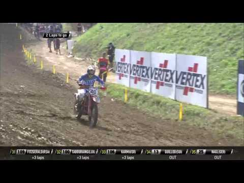 Antonio Cairoli crash