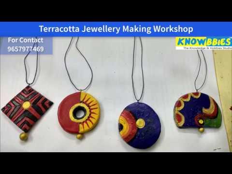 Teracota Jewellery Making Course Pune - Learn Beautiful Art of ...