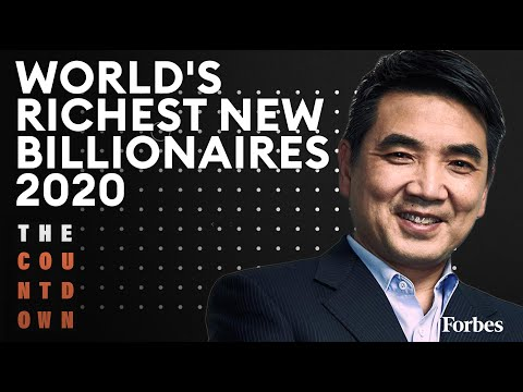 Eric Yuan, Mackenzie Bezos Among World's Newest Billionaires | The Countdown | Forbes