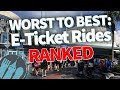 WORST TO BEST: 18 Popular Disney World Rides RANKED!