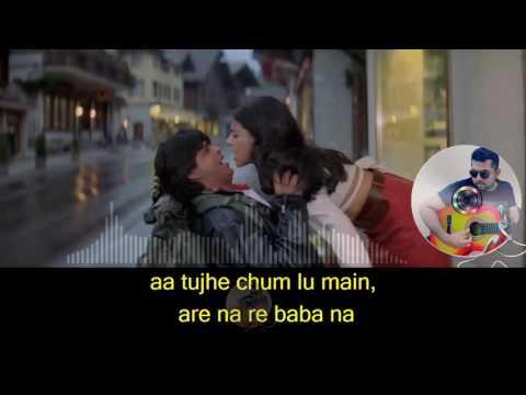 Zara sa Jhoom loon main karaoke with synced lyrics