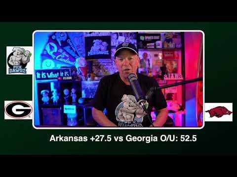 Arkansas vs Georgia Free College Football Picks and Predictions CFB Tip Saturday 9/26/20 | PickDawgz