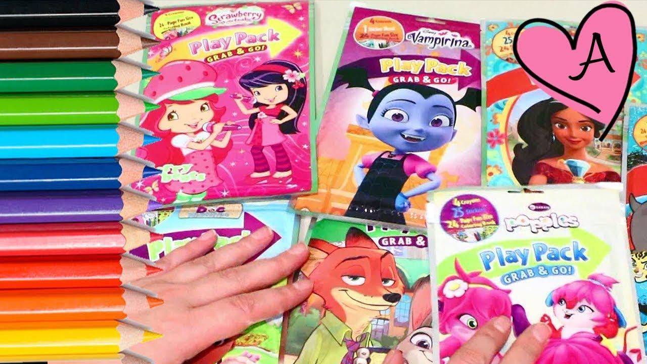 Dibujos Para Colorear De Vampirina Rosita Fresita Doctora Juguetes Y Más Juguetes Con Andre