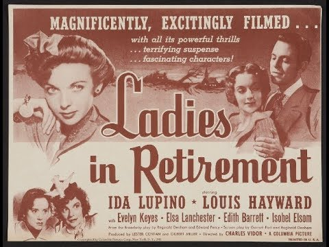 Ladies In Retirement 1941 Ida Lupino and Louis Hayward