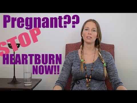 Instantly Stop Pregnancy Heartburn and Indigestion (WITHOUT TAKING ANYTHING!)