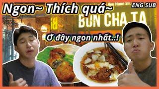 Bun Cha restaurant food trip in Ha Noi (feat. Bun Cha Obama)