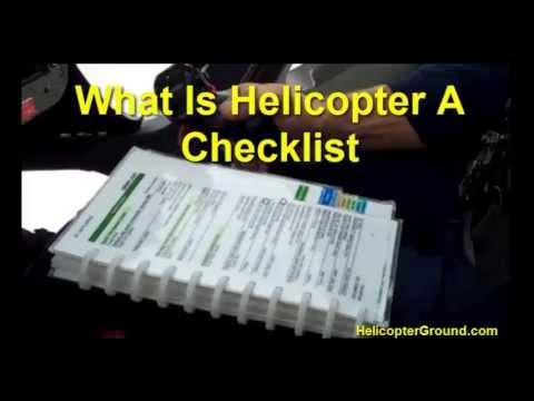 What is an Aircraft Checklist