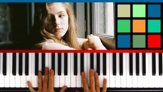 "How To Play ""Skinny Love"" Piano Tutorial (Birdy / Bon Iver)"