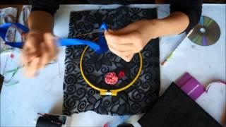 Вышивка цветов из лент(Вышивка цветов из лент Видео мастер-классы от разных мастеров по различным видам рукоделия помогут вам..., 2015-06-15T13:52:24.000Z)