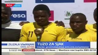 Amos Kigadi, mchezaji wa Vihiga United ashinda tuzo za SJAK