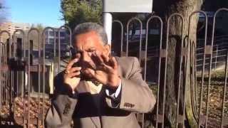 TPLF propagandist Tsehaye Debalkew confronted by Ethiopian activist