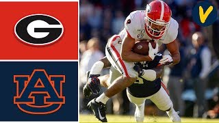 #4 Georgia vs #12 Auburn Highlights | Week 12 | College Football | 2019