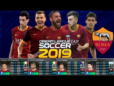 Download Dream League Soccer 2018 Mod As Roma 2018 19 Power
