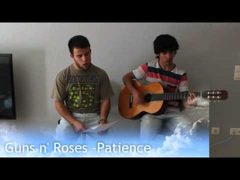 GunsNroses – Patience [Acoustic Cover]