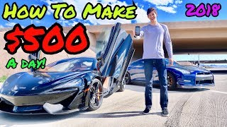 How To Make +$500 A Day | Stock Market