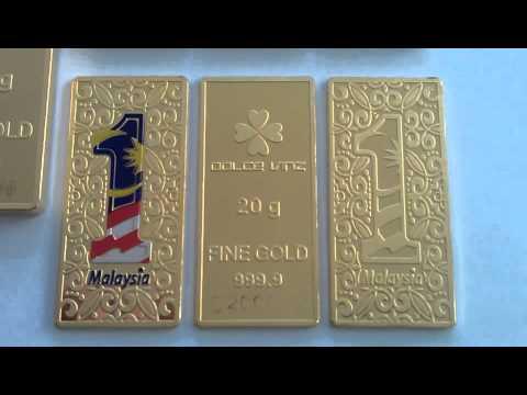 1 Malaysia Gold Bar