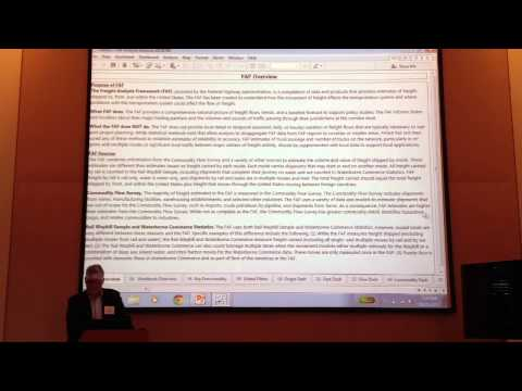 TRB VIS 2013 Freight Operations Part 3 - John Hoover