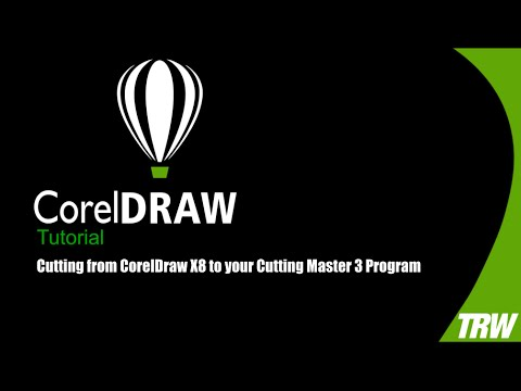 Cutting from CorelDraw X8 to your Cutting Master 3 Program