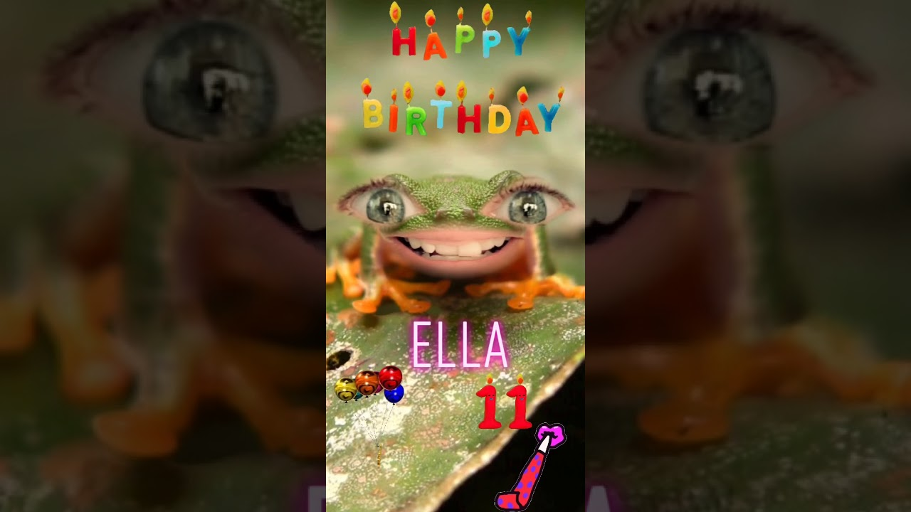 🎂 🎈 🎉 Happy Birthday Ella 🎂 🎈 🎉