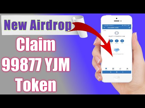 New airdrop/Claim free 99877 YJM token in trust wallet