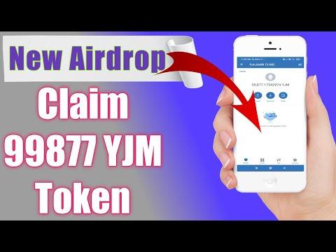 New airdrop/Claim free 99877 YJM token in trust wallet