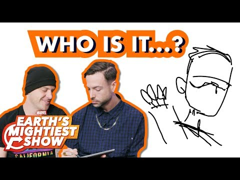 Good Charlotte Competes in a Marvel Sketch Challenge! | Earth's Mightiest Show Bonus