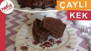 Browni Tadında Çaylı Kek - Kek Tarifleri - Nefis Yemek Tarifleri