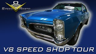 V8 Speed & Resto Shop Muscle Car Restoration Shop Tour November 2019 V8TV