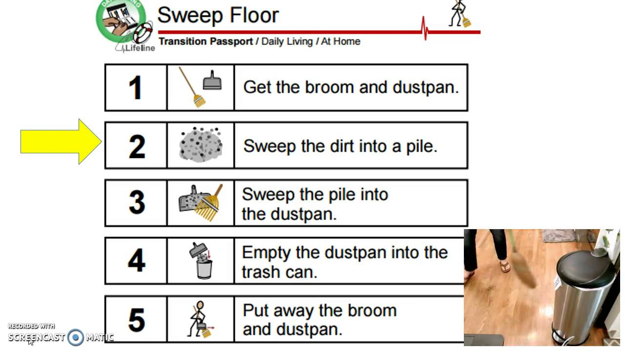 sweeping the floor youtube sweeping the floor