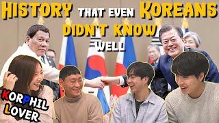 The History of the Filipino in Korea reaction|Korean Reaction