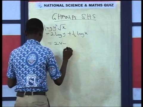 MFANTSIPIM SCHOOL GHANA NATIONAL SCIENCE AND MATH QUIZ 2014