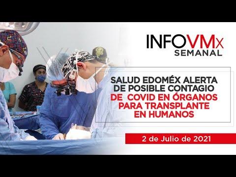 SALUD EDOMÉX ALERTA DE POSIBLE CONTAGIO DE  COVID EN ÓRGANOS PARA TRANSPLANTE EN HUMANOS