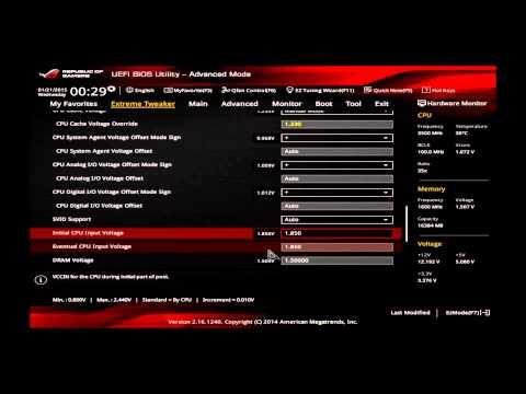 Asus Maximus Vii Ranger General Cpu Oc Guide Overclockingguide 4670k 4690k 4770k 4790k
