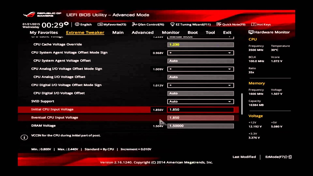 ASUS Maximus VII Ranger [General CPU OC Guide] Overclocking Guide 4670K,  4690K, 4770K, 4790K
