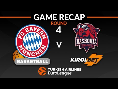 Highlights: FC Bayern Munich - KIROLBET Baskonia Vitoria-Gasteiz
