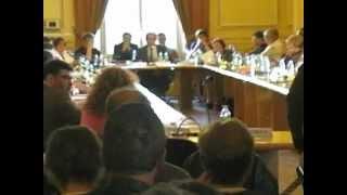 Aulnay-sous-Bois : Conseil Municipal du 22 juin 2012, intervention de Gérard Ségura