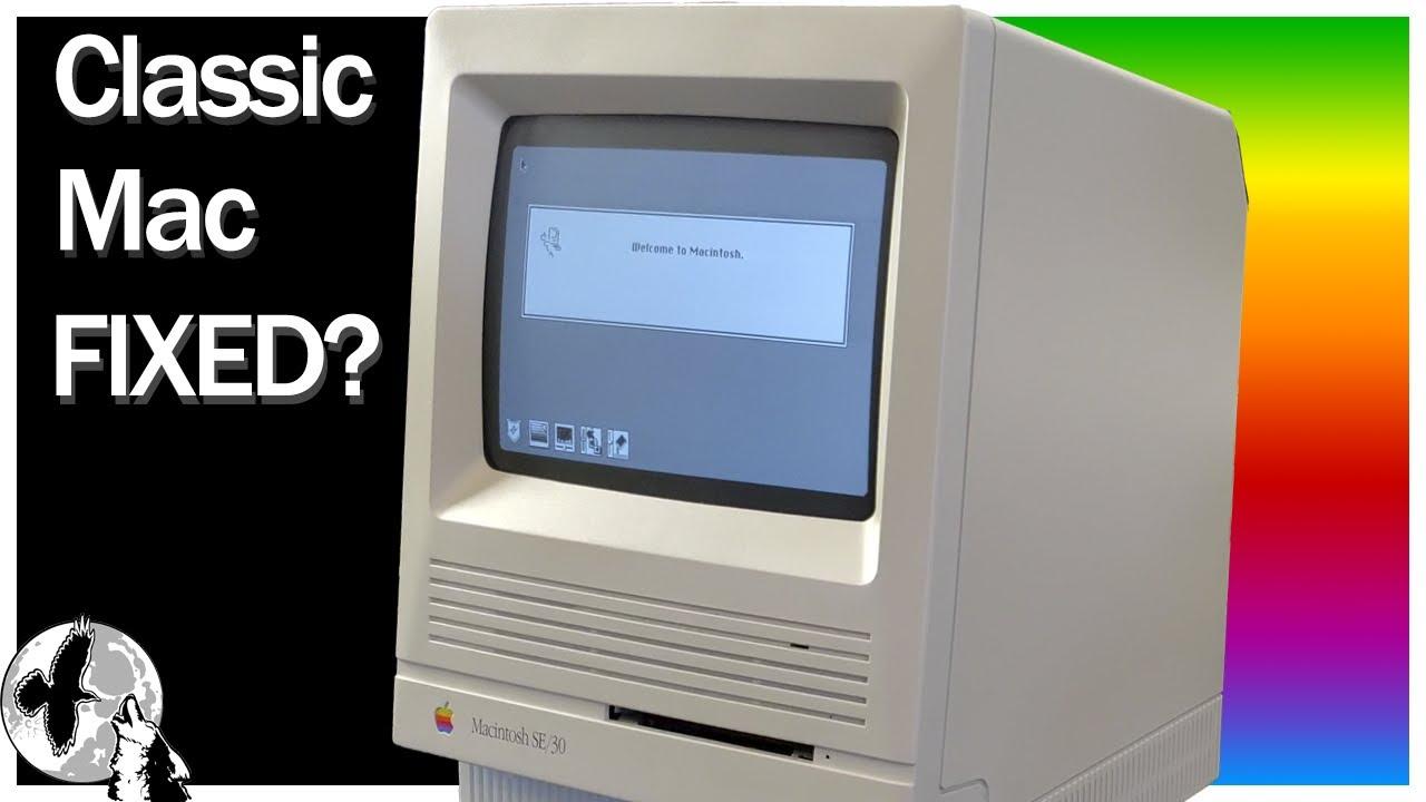 Apple Macintosh SE/30 Final Restoration - Mac SE/30 Project Part 5