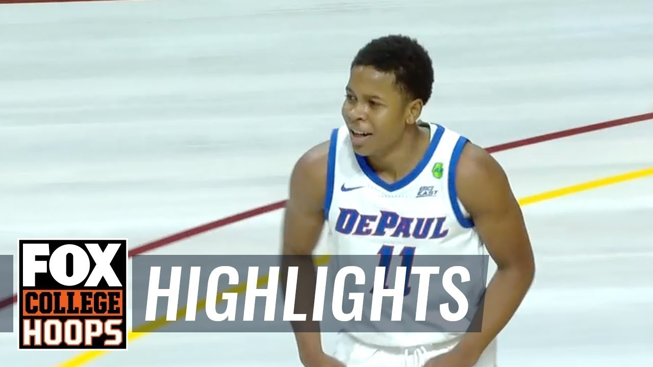 Depaul Moves To 8 0 With 73 68 Victory Over Minnesota Fox College Hoops Highlights