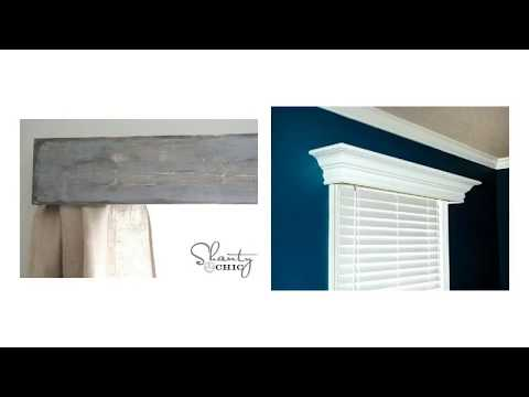 Inspiring Wood Window Valance Ideas