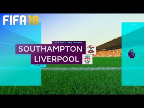 FIFA 18 - Southampton vs. Liverpool @ St. Mary's Stadium