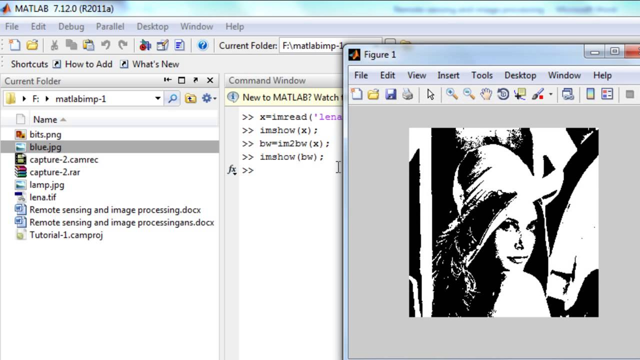 Matlab 2 Image conversions