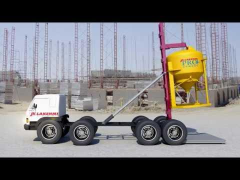 3D Animation   JK Lakshmi Innovative Cement Delivery Silo
