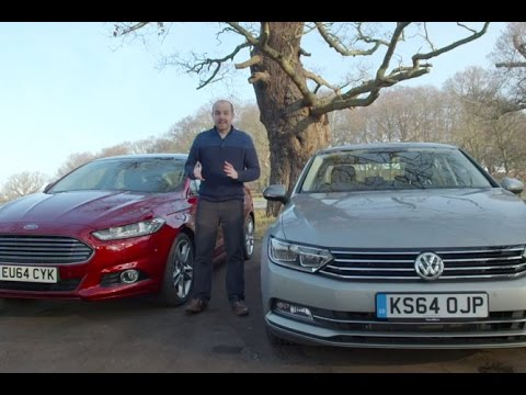 Ford Mondeo Vs Vw Passat 2015 Telegraph Cars Youtube