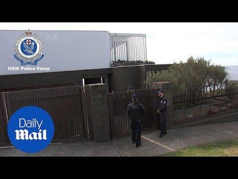NSW Police raids at John Ibrahim's Sydney mansion - Daily