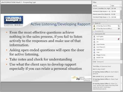 Prospecting Training Webinar