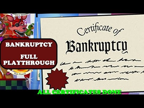 BANKRUPTCY Certificate After Getting Rich - Full Playthrough