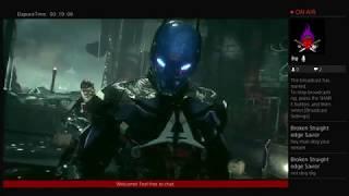 Live Stream Josh ConfusedGaming Live stream gameplay. Batman Arkham Knight mic fail.