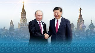 China and Russia are two important major countries in the world.
