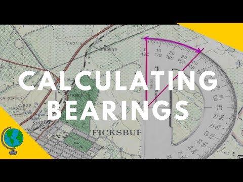 Map Skills - Calculating Bearings in a Geography Examination